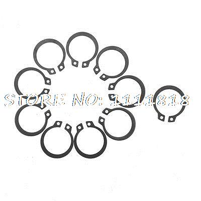 Shaft Bearing Pinned Connection External Circlip 27mm Inner Dia  X 10