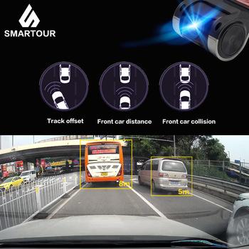 Smartour kamera samochodowa złącze USB pojazdu 1280*720P rejestratorów do systemem Android system mini wideorejestrator do jazdy samochodem kamera z ADAS tanie i dobre opinie CN (pochodzenie) HISILICON Ukryty Klasa 10 105 °-140 ° 1280x720 NONE G-sensor Cykl nagrywania Widzenie w nocy Anty wibracji