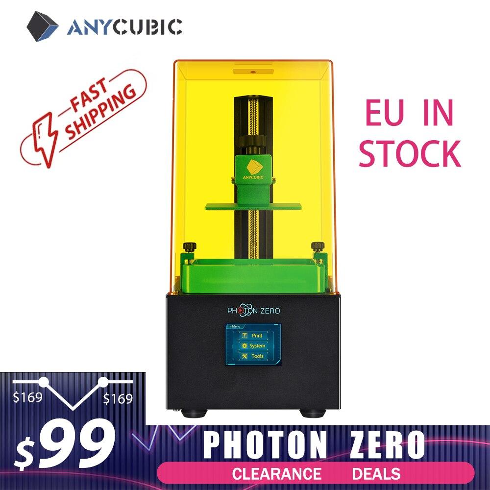ANYCUBIC Photon моно/Photon Zero 3D принтер Быстрый срез УФ Смола SLA/LCD 3D принтер Impresora 3d Drucker Impressora 3d
