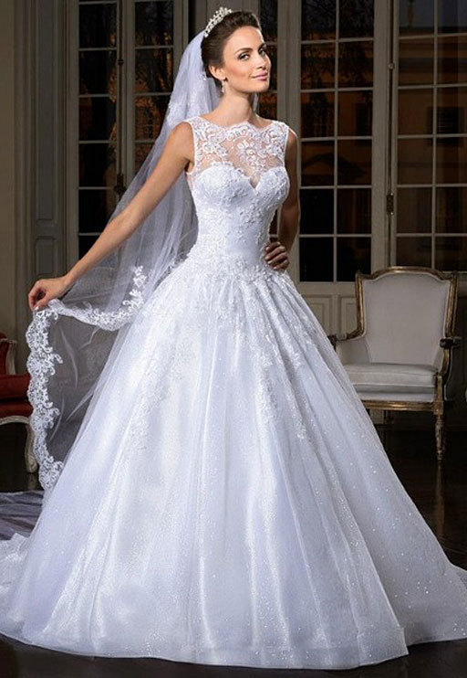 Elegant Floor Length Sexy Backless Beading Lace Crystal Vintage Ball Gown Wedding Dresses For Brides Vestido De Noiva Longo 2016