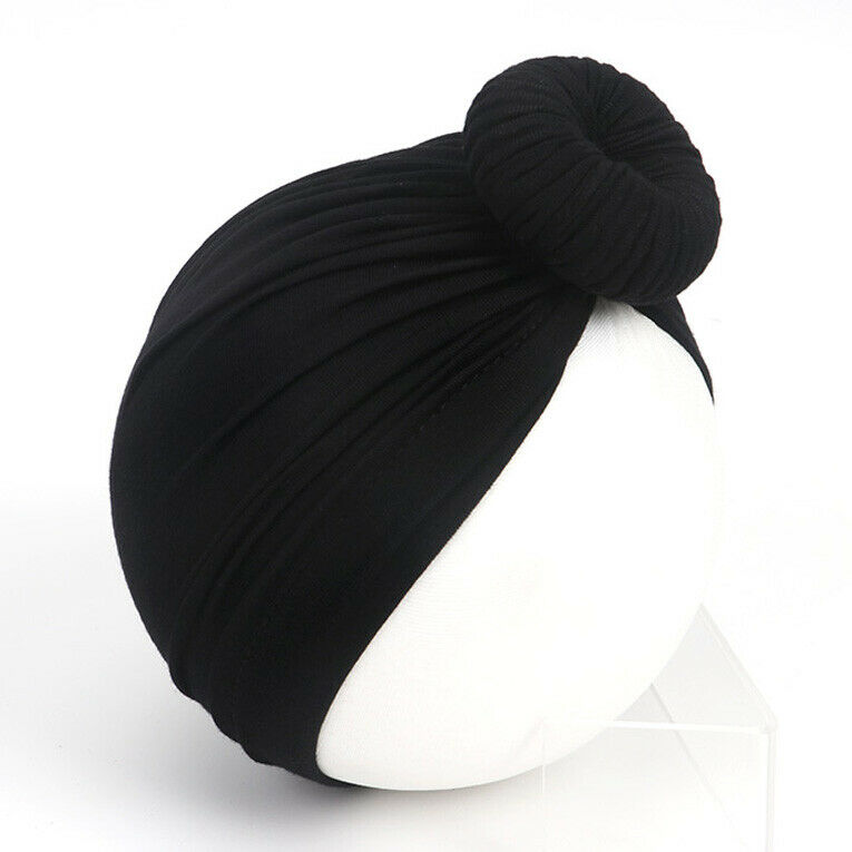 Bowknot Baby Kid Muslim Turban Caps Toddler Beanie Child Winter Warm Indian Hat