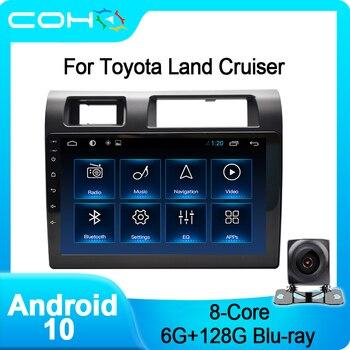 COHO-Radio Multimedia con Gps para Coche, Radio con reproductor, Android 10,0, ocho...