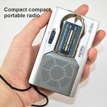 Mini Portable Radio Handheld Digital AM/FM Telescopic Antena Radio Receiver untuk Berjalan Saran dan Fakta(China)