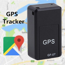 Vehemo GF-07 1pc Auto Mini GPS Tracker Mini GPS Tracker Locator Portable Car Callback Magnetic GPS Locator Positioner Real Time