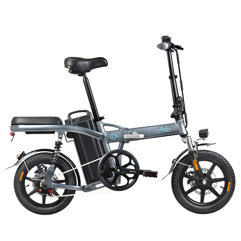 Fiido L2 Flagship Version 48V 350W 20Ah Folding Electric Bike 14 inch 25km/h Top Speed 3 Gear Power Boost Moped Electric Bicycle
