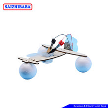Saizhibaba Magical Student Scientific Experiment Toy Salt Water Power Aircraft Science Toy DIY Chemical Gizmo Children Toys(China)