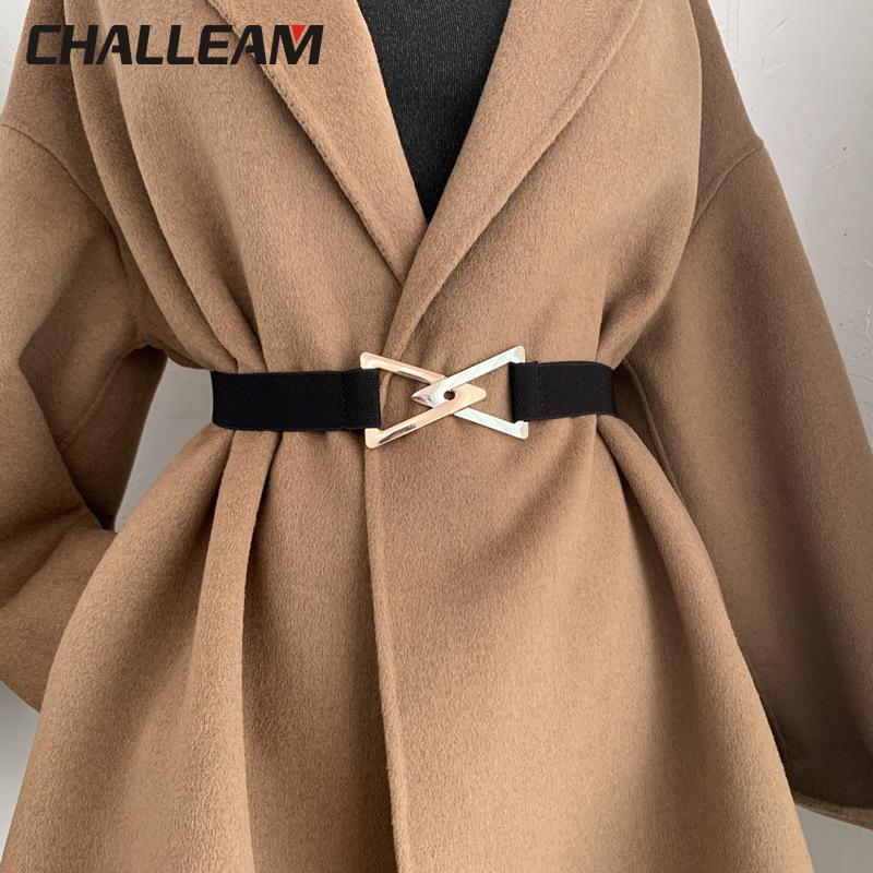 Triangle belt women's decorative elastic elastic with dress sweater suit waist simple belt versatile fashion girdle x254