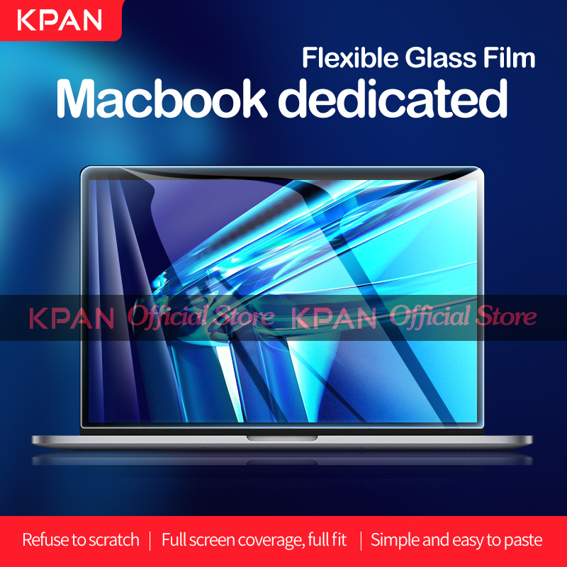 KPAN HD for Macbook Pro 13 2020 M1 Chip A2337 2338 Screen Protector Pro Air 12 13 15 16 2179 2289 1706 2251 Flexible Glass Film