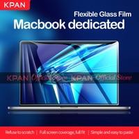 KPAN HD für Macbook Pro 13 2020 M1 Chip A2337 2338 Screen Protector Pro Air 12 13 15 16 2179 2289 1706 2251 Flexible Glas Film