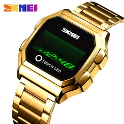 SKMEI Touch LED Digital Watches For Mens Date Time Creative Men Wristwatches Fashion Waterproof Touch Watch reloj hombre 1650