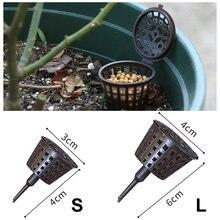 Пластмассовая корзина для выращивания цветов орхидеи 10 шт