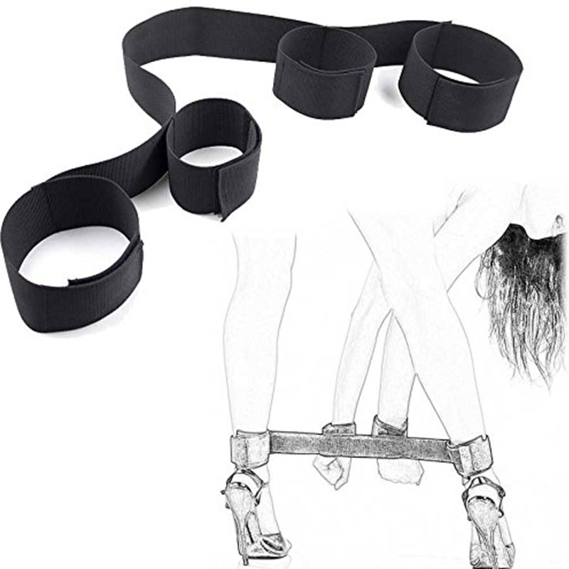 Erotic Toys Gags Muzzles Restraints Handcuffs&Ankle Cuff BDSM Bondage Set Flirting Adult Games Fetish Sex Toys For Couples Slave