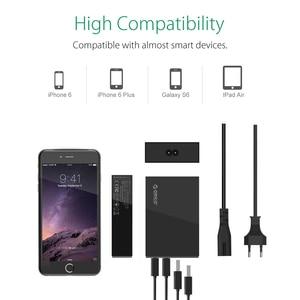 Image 3 - Настольное зарядное устройство ORICO с 4 USB портами, 5 В, 2,4 А, быстрая зарядка с европейской вилкой для Xiaomi, Samsung, Huawei