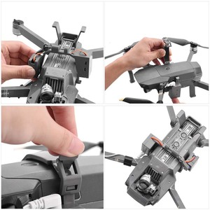 Image 4 - Air Drop System for DJI Mavic Pro Drone Fishing for Mavic 2 pro zoom AIR 2 Ring Gift Deliver Life Rescue Remote Thrower Kits
