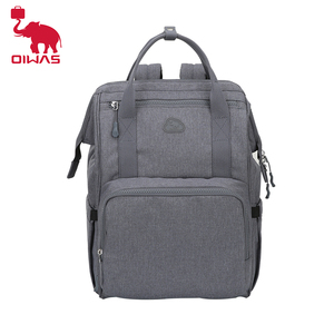 Image 1 - OIWAS Nappy Backpack Bag Mummy Large Capacity Bag Mom Baby Multi function Womens bag Outdoor Travel Diaper Bags For Baby Care
