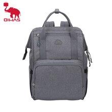 OIWAS bezi sırt çantası mumya büyük kapasiteli çanta anne bebek çok fonksiyonlu kadın çantası açık seyahat bebek bezi çantaları için bebek bakımı