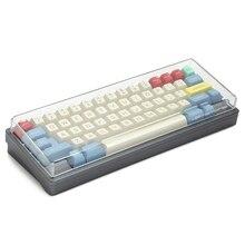 MStone housse anti poussière, transparente et en bois pour clavier mécanique, couverture 40%, 60%, 65%, 80%, Poker GH60, BM60, XD64, XD68, BM65 87