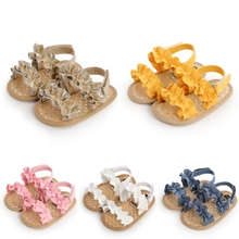 Fashion Sandals Baby-Girls Princess-Shoes First-Walkers Soft-Sole Summer Non-Slip Flat