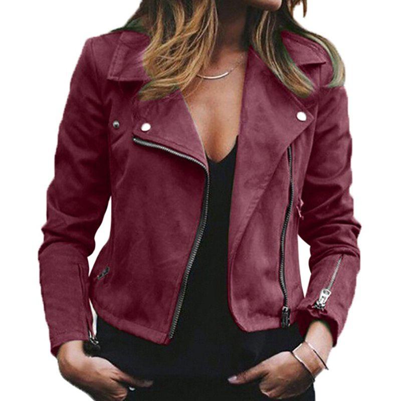 jaqueta curta diagonal, vinho vermelho, plus size