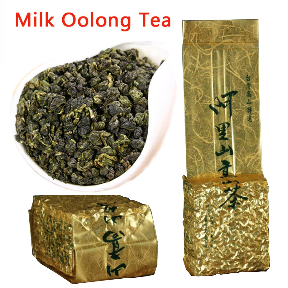 250g Taiwan Milk Oolong Tea Beauty Weight Loss Lowering Blood Pressure High Mountains JinXuan Milk Oolong Tea Fresh Green Tea