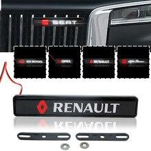 Calandre de voiture avec éclairage LED, 1 pièce, pour BMW M Performance 3 série 5 série 7 e46 e90 e60 Z4 M3 M5 X3 X4 X5 X6