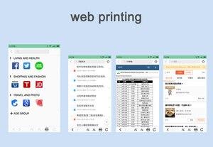 Image 5 - Mini POS Portable Printer Pocket Mobile Photo Ptinter Thermal Bluetooth 58mm Wireless Label Printer with Adhesive Sticker Paper