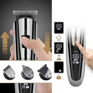 Image 5 - Barber Haar clipper elektrische haar schneiden maschine professionelle trimmer rasieren bart wiederaufladbare werkzeuge trimer cliper 5