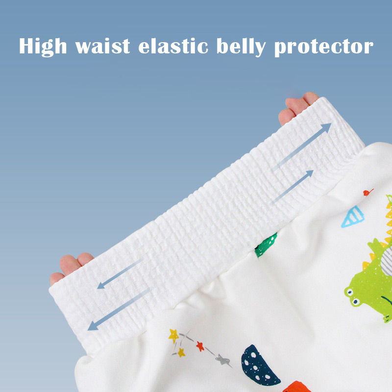 Anti-Bed Wetting Training Short - 2 in 1 Comfy Children's Diaper Skirt - Potty Training Pants