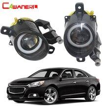 Cawanerl для Chevrolet Malibu 2013 Автомобиль 30 Вт 3000лм светодиодный противотуманный фонарь Ангел глаз дневного света DRL 12 В 2 шт