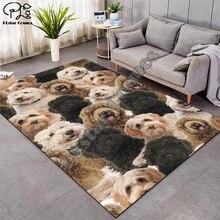 цена на Dog/cat carpet Nordic Rug Soft Flannel 3D Printed Rugs Parlor Mat Area Rugs Anti-slip Large Carpet Rug Living Room Decor D-001
