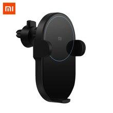 Caricabatteria da Auto Wireless Xiaomi 20W Max originale elettrico Auto pizzico Qi ricarica rapida Mi caricabatteria da Auto Wireless per Mi 9 iphone X XS