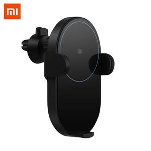 Image 1 - Xiaomiワイヤレス車の充電器20ワット最大オリジナル電気自動車ピンチチー急速充電miワイヤレス車の充電器mi 9 iphone x xs