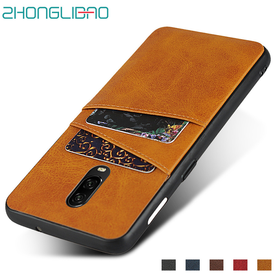 Wallet Card-Holder Phone-Case Oneplus Frame-Cover Silicone for 7-pro/7-6t/6-5t/.. One-plus/7-1/7pro/6t