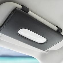 Boîte de mouchoirs de voiture, set de serviettes, pare soleil, 1 pièce, rangement pour intérieur de voiture, support de la boîte, accessoires pour BMW