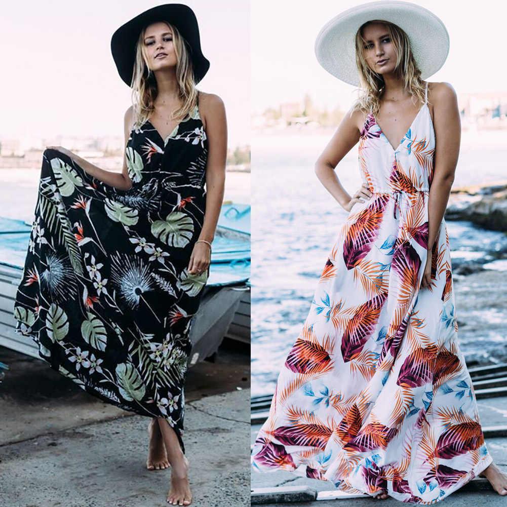 1 × ドレス自由奔放に生きる花柄ヴィンテージ夏のビーチドレスストラップ中空アウト女性サンドレスボヘミアンビーチワンピースドレス