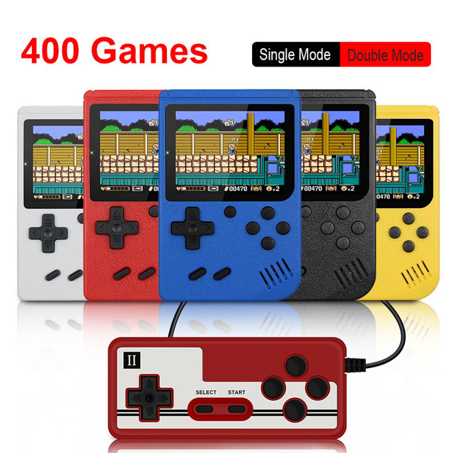 Built in 400 games Retro Portable Mini Handheld Video Game Console 8 Bit 3.0 Inch Color LCD Kids Color Game Player