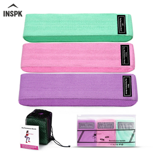 INSPK Yoga Elastic Fitness,Cotton Wool+L