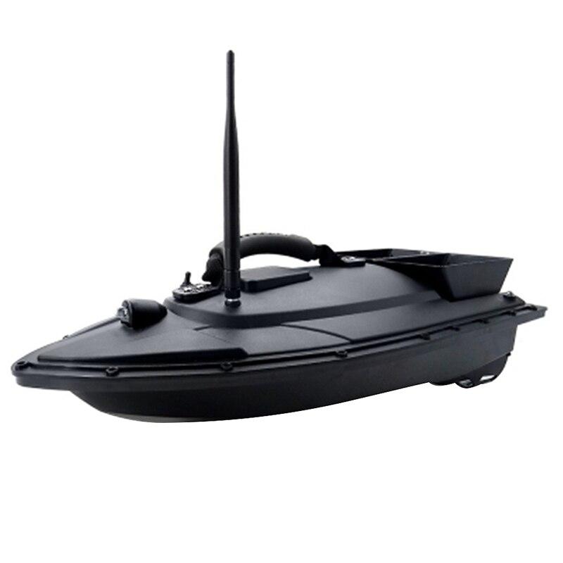 Smart Bait Boat de doble Motor buscador de peces Barco de Control remoto 500M barcos de pesca lancha rápida con enchufe de la UE - 3