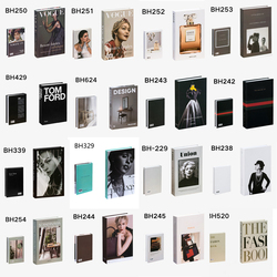 Fake Books Decoration For Home Decorative Books Modern Simulation Fashion luxury Home Decor Creative fashion brand decoration