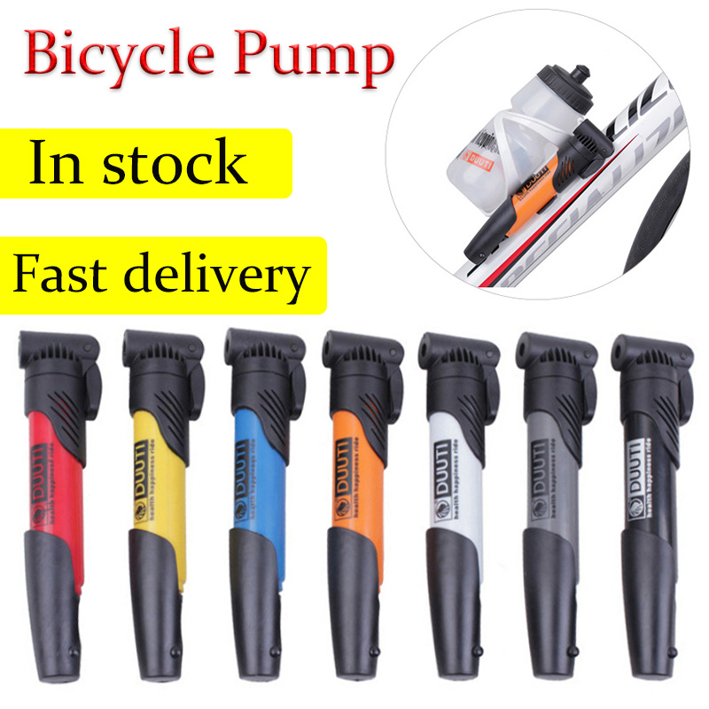 Bicycle Pump Cycling Accessories Bike Inflator Super Lightweight MTB Road Bike Cycling Pump Portable Mini Air Pump Tire Ball Hot