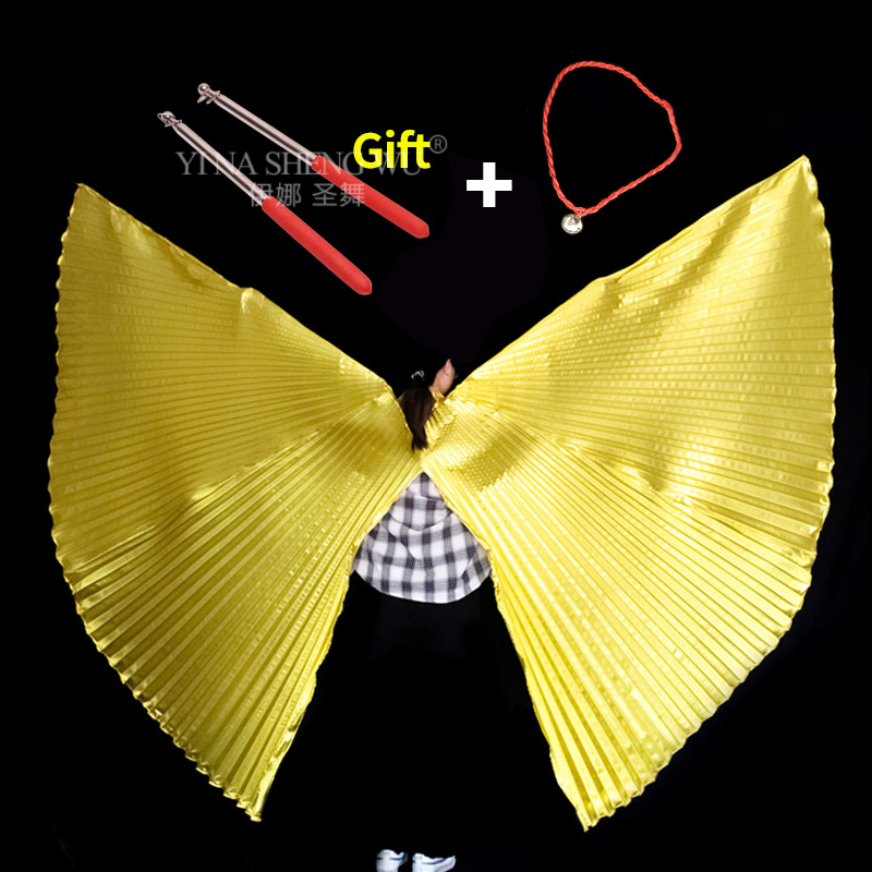 Children Adult Butterfly Belly Dance Isis Wings Belly Dance Accessory Bollywood Oriental Egypt Wings With Sticks Kids Adults New