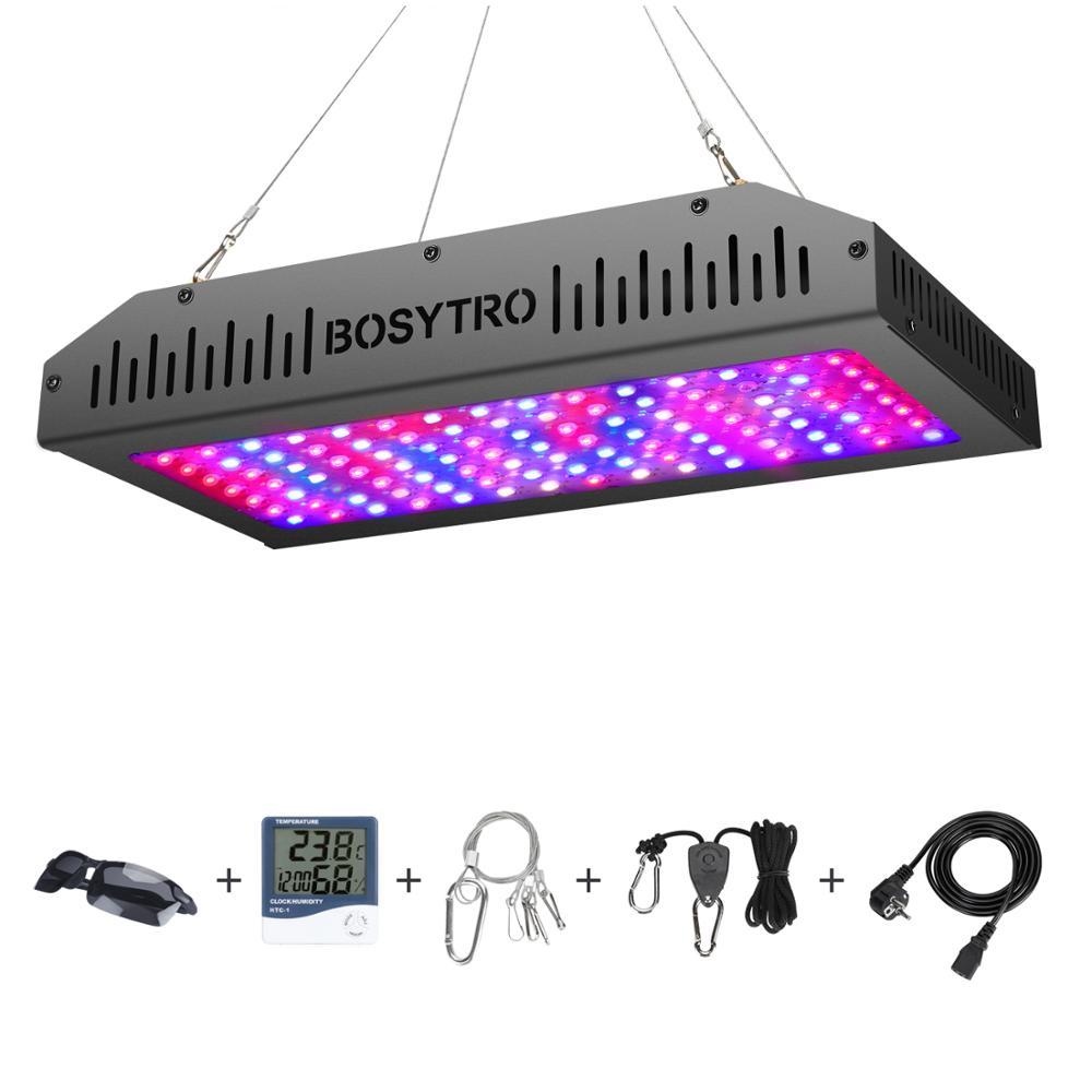1200W светодиодный Grow светильник полный спектр растений светильник лампа для выращивания двойной переключатель гидропоники комнатное расте...