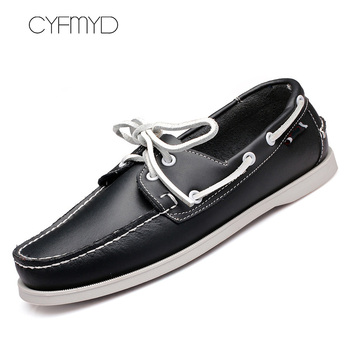Genuine Leather Men Casual Shoes Tassel Boat Shoes Classic Loafers Slip On Moccasins personality Driving Shoes England Flats personalized tassel rivet fashion breathable slip on genuine leather men shoes rhinestone handmade casual party nightclub shoes