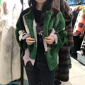 Real mink fur coat women plus size winter Donald duck pattern coat 2019 new fashion kawaii high quality luxury clothes women