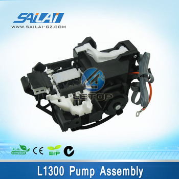 Inkjet printer ink pump assembly for EP L1300 printhead