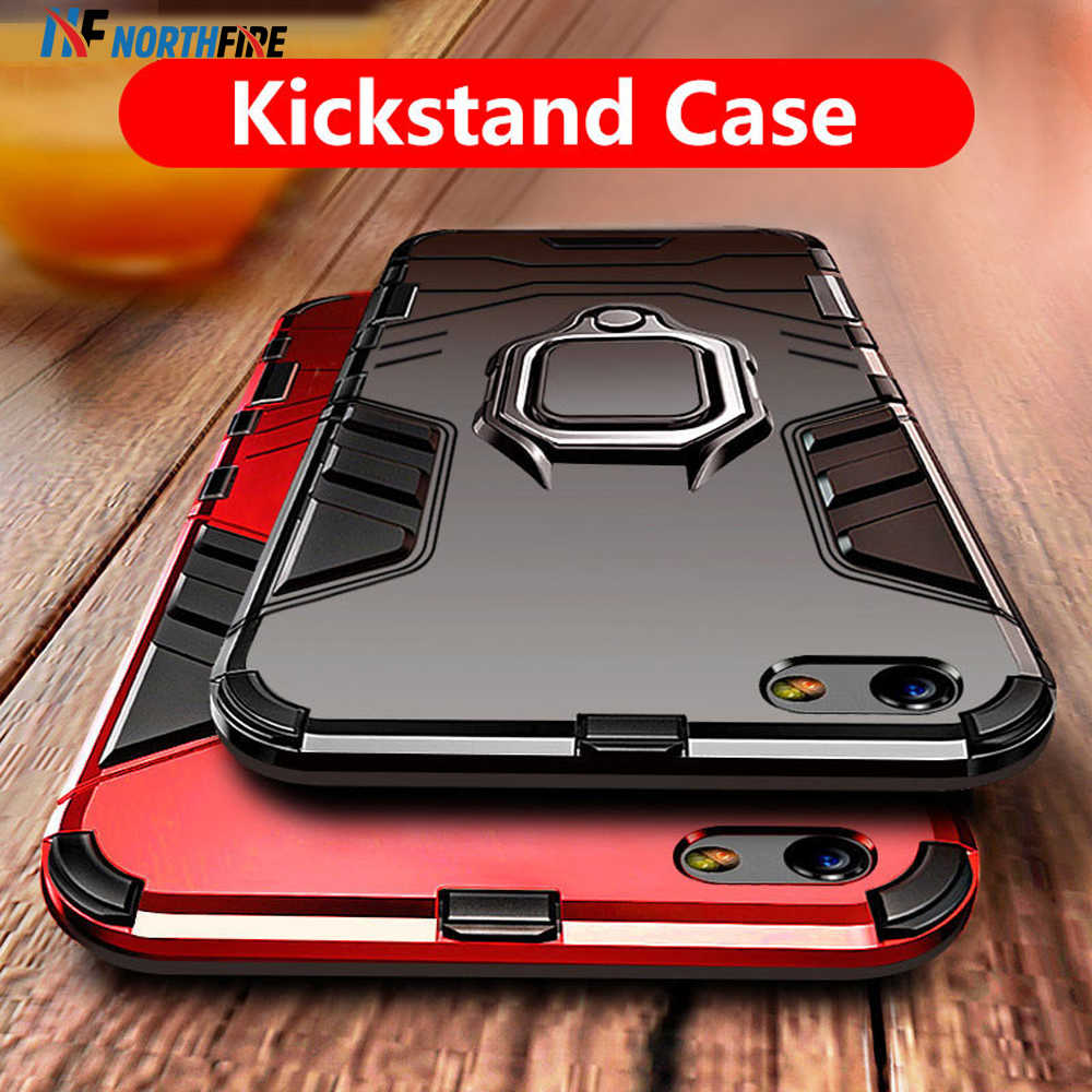 NORTHFIRE Armor Case For Redmi 5 Plus/Note4/5/6/6Pro/7 Magnetic Holder Case For Xiaomi Redmi MI Mix 2S/8 Lite/MAX 3 Coque Funda