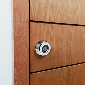 Image 4 - Serrure à tiroir dempreinte digitale numérique 20 empreintes digitales Rechargeable sans clé serrure intelligente en alliage de Zinc intégrée pour armoire de gymnastique de bureau à domicile