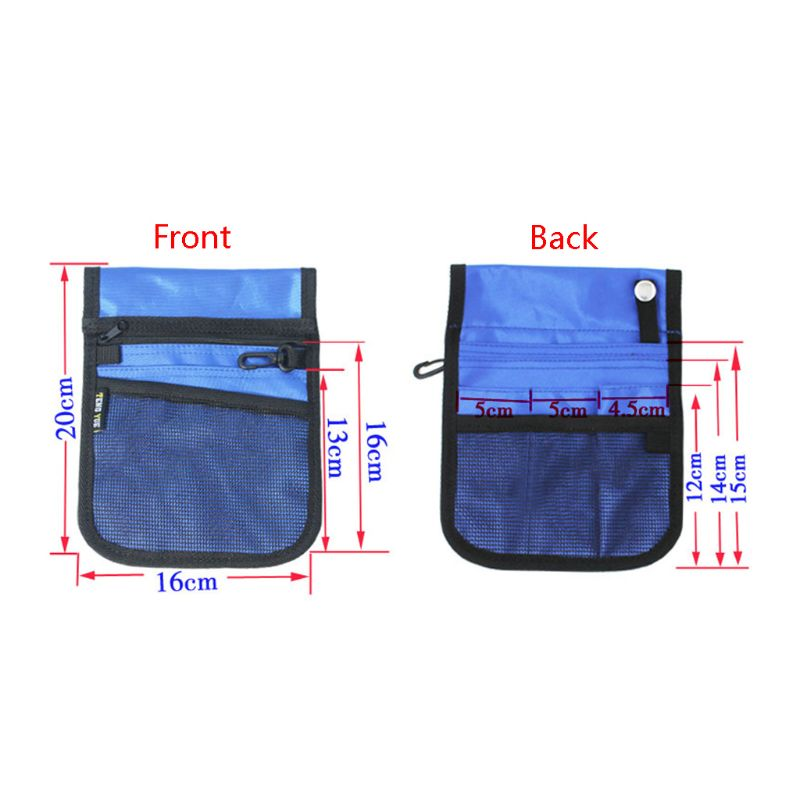 1Pc Fanny Pack Nursing Belt Organizer For Women Nurse Waist Bag Shoulder Pouch Bag