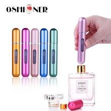 Oshioner 5ミリリットル/8ミリリットルポータブルミニ詰め替え香水スプレーボトルアルミアトマイザースプレーボトル旅行コンテナ香水瓶