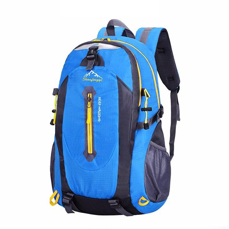 40L водонепроницаемый дорожный рюкзак для катания на лыжах для мужчин горный рюкзак для кемпинга для спорта на открытом воздухе сумки для альпинизма для женщин и мужчин рюкзак|Сумки для альпинизма|   | АлиЭкспресс